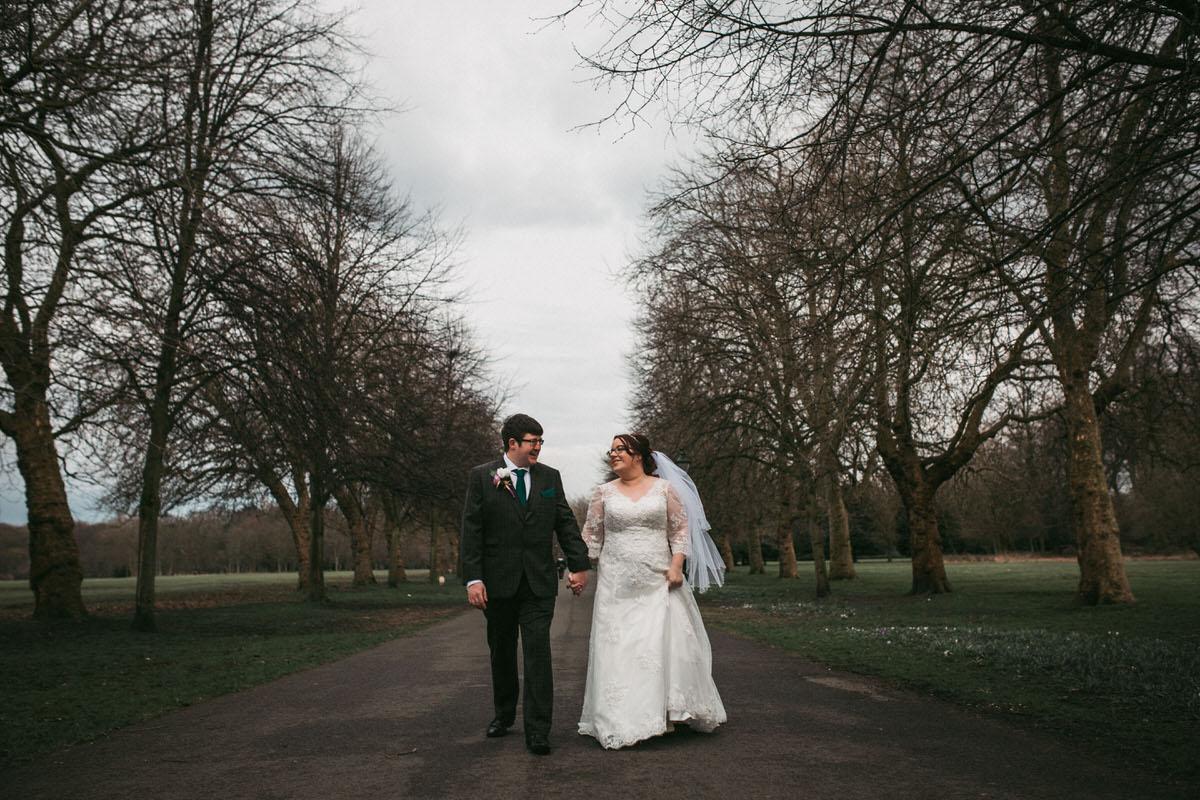 taking a walk through sefton park liverpool