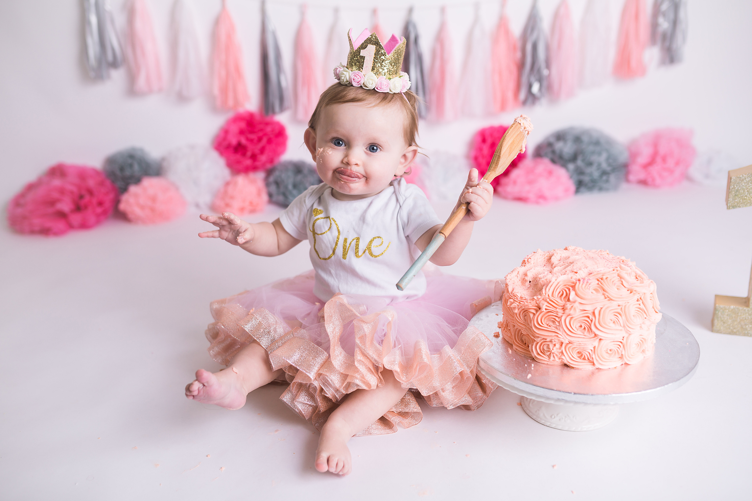 Liverpool Cake Smash baby Photo shoot